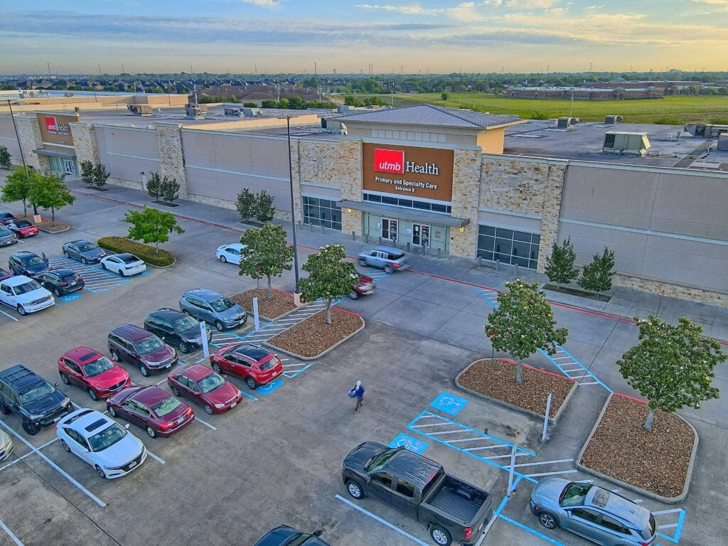 Aerial Photo Shot by Eddie Harper of League City Texas
